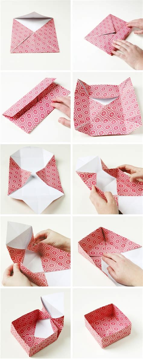 how to make a origami gift box diy origami gift boxes gathering