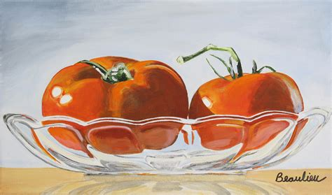 acrylic painting vegetables fruit and vegetables andre beaulieu studio