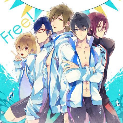 free anime free anime fanart free iwatobi swim club