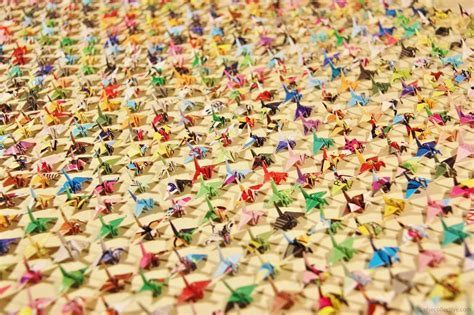 thousand origami cranes great thousand origami cranes 2016