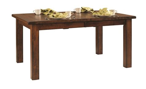 amish dining room tables amish ancient mission dining room table