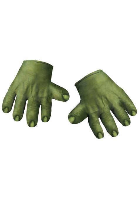 Home Made Halloween Decorations incredible hulk hands