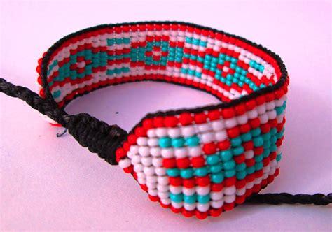 beaded american bracelets beaded friendship bracelets huichol american