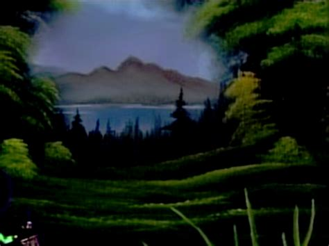 bob ross painting gesso soothing vista the of painting s17e3
