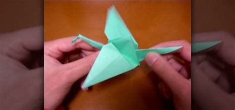 how to make a origami with wings origami swan that flaps wings comot