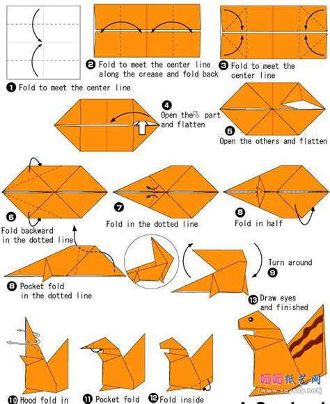 how to make animal origami squirrel origami and on this board we