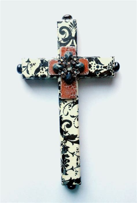 decoupage cross discover and save creative ideas