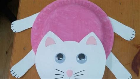 cat craft for recycled cat craft idea for preschool crafts and