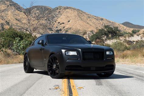 Rolls Royce Black by Threatening Look Of Custom All Black Matte Rolls Royce