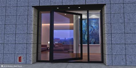 door glass modern steel doors custom pivot doors glass doors