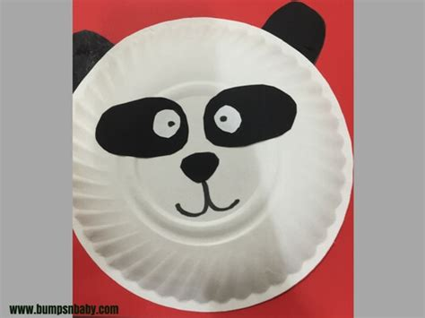 panda paper plate craft 4 paper plate craft ideas you can do with your preschooler