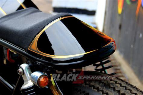 Modifikasi Cafe Racer Monoshock by Modifikasi Klasik Cafe Racer Yamaha Scorpio