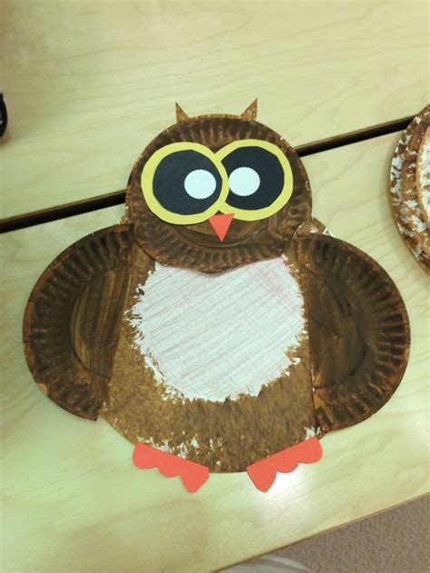 owl paper plate craft paper plate owl craft crafts by amanda the knownledge