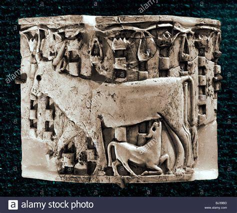 Der Garten Ischtar Kunst by Mesopotamia Animals Stockfotos Mesopotamia Animals