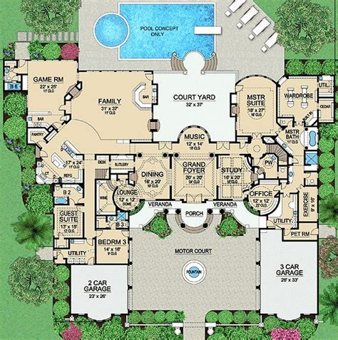 house plans for mansions 1000 ideas about mansion floor plans on