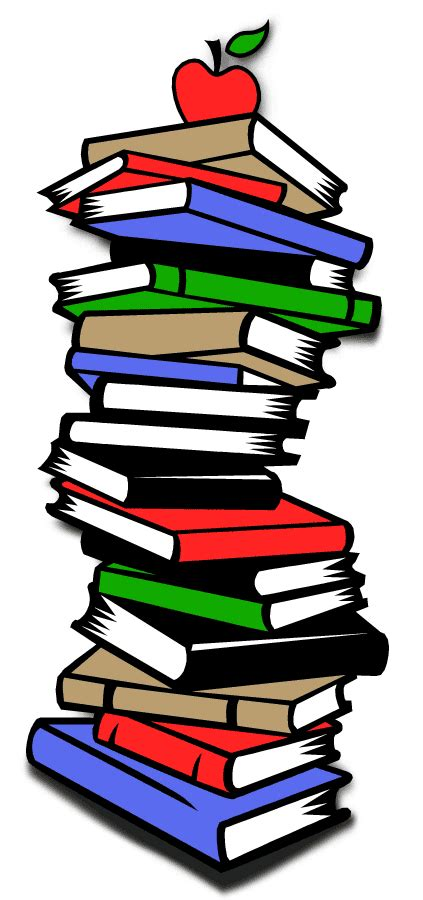 pictures of animated books stack of books clipart best