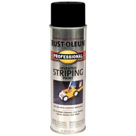 home depot spray paint black rust oleum professional 18 oz flat black inverted