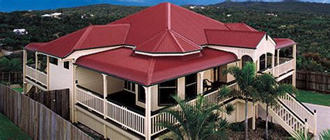 Classic Color Schemes manor red 174 pittwater metal roofing