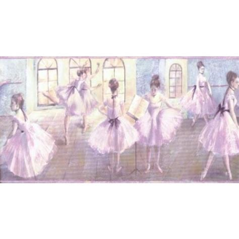 Nautical Wall Murals ballerina ballet for girls wallpaper border all 4
