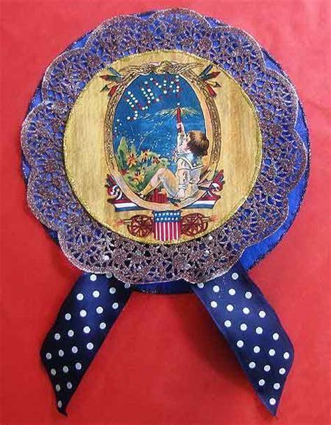 vintage paper crafts vintage paper crafts 4th of july rosettes woo jr