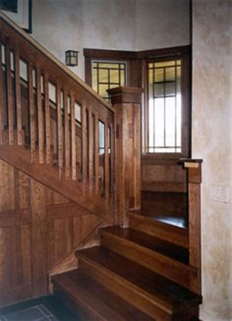 craftsman style woodwork 1000 images about craftsman stairs and hallways on