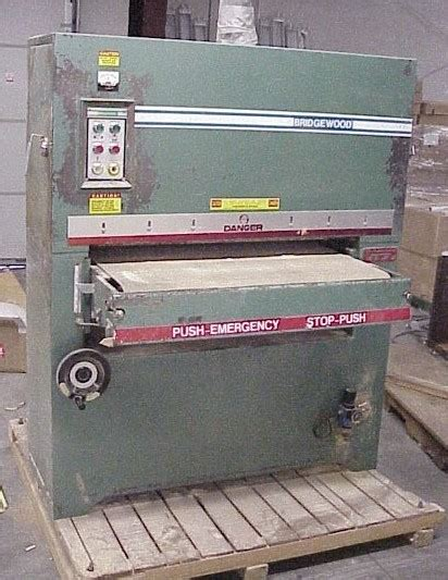 bridgewood woodworking equipment machinery tools