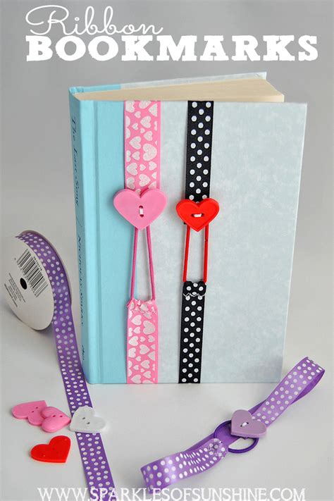 easy sewing projects for craft fairs ribbon bookmarks sparkles of