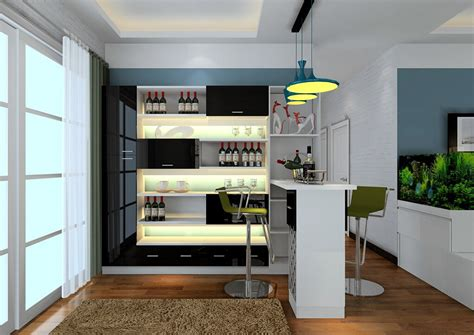 home bar counter modern style home mini bar counter