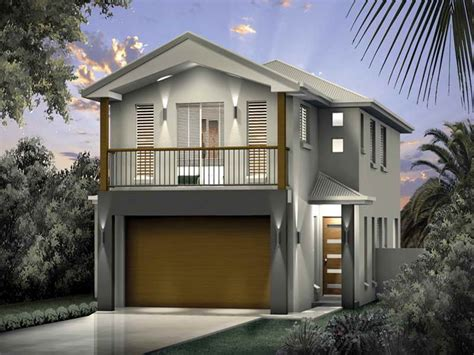 modern home design for narrow lot vacation home plans narrow lots cottage house plans