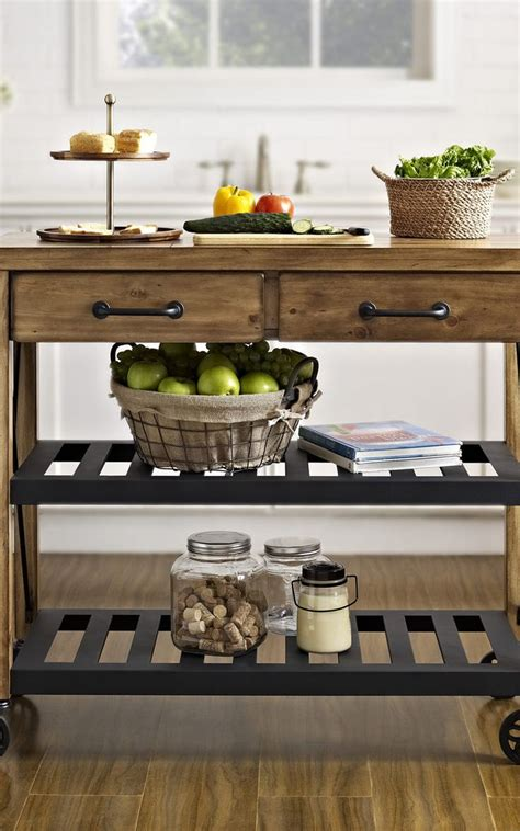 rustic kitchen islands and carts how to build a rustic kitchen cart woodworking projects plans