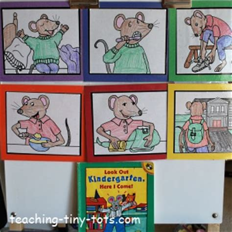 picture books for sequencing kindergarten books and sequencing activity