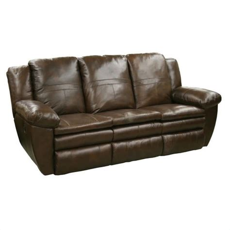 catnapper reclining sofas catnapper sonoma leather reclining sofa in