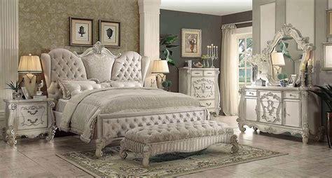 ivory velvet white bone sleigh bed ac chatueau