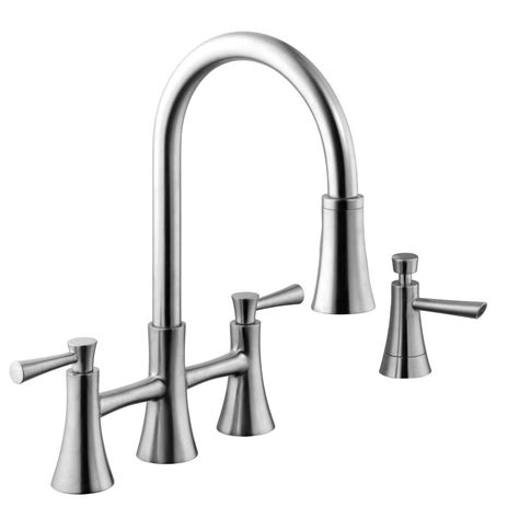 2 kitchen faucet two handle kitchen faucet with pull sprayer