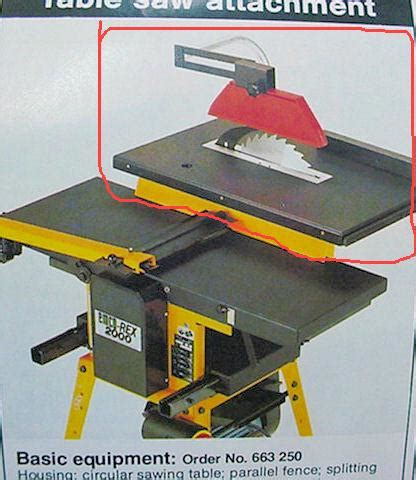 emco rex combination woodworking emco rex 2000 table saw attachment nos kit parts