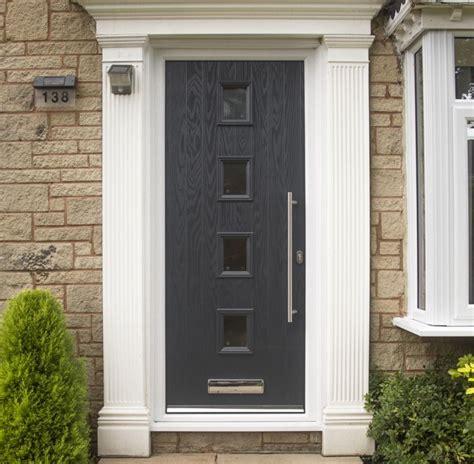 composite doors exterior composite glazed front doors safestyle uk