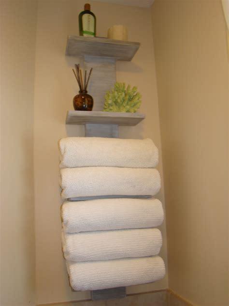 towel storage in small bathroom my bath finally gets some towel storage