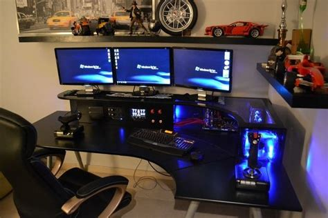 home built computer desk amazing built in computer desk for the home