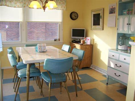 1950s kitchen design colorful vintage kitchen designs