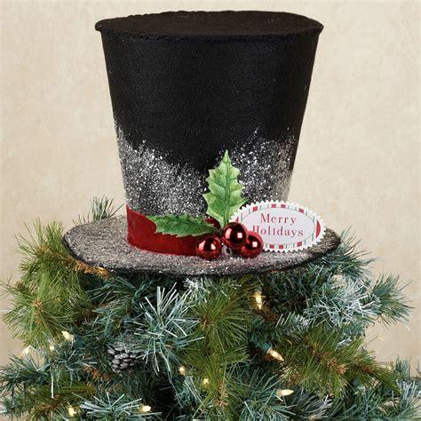 top hat tree topper frosty the snowman tree topper