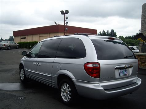 2002 Chrysler Town And Country by 2002 Chrysler Town And Country Information And Photos