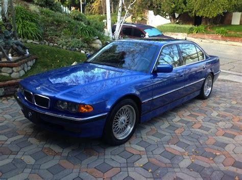 1999 Bmw 750il estoril blue 1999 bmw 750il german cars for sale