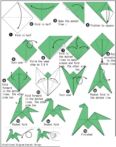 how to make a origami introducing the year of the by morikami