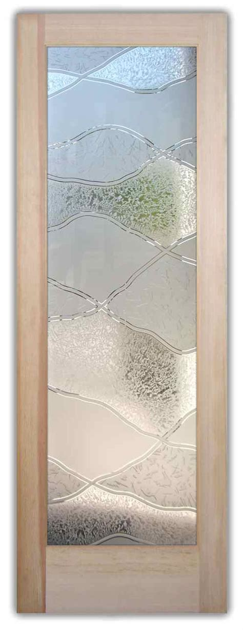 interior etched glass doors bathroom doors sans soucie glass