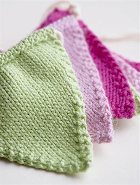 uk knitting patterns free knitted bunting pattern goodtoknow