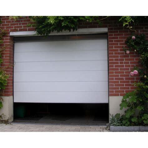 devis porte de garage sectionnelle sur mesure