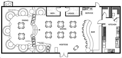 floor plans for a restaurant restaurant design software design a restaurant with