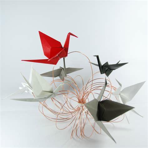 origami centerpiece origami cranes centerpiece tutorial rossanarama handmade