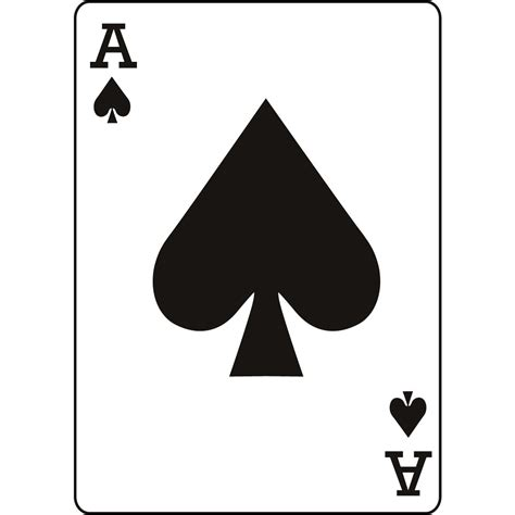 ace of the aces cards clipart 19