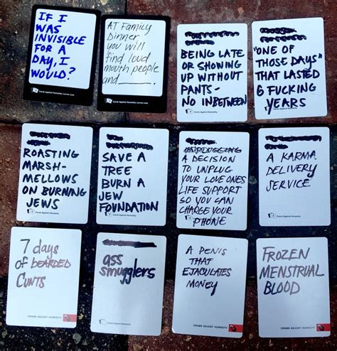 make your own cards against humanity cards 1000 ideas about cards against humanity on